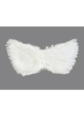 Крылья перьевые белые 80 х 40 см