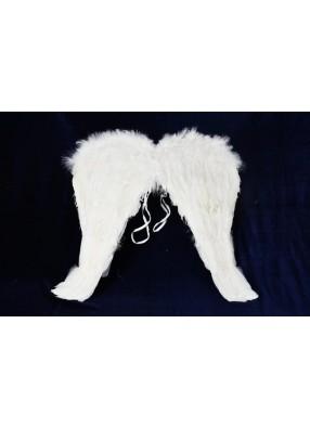 Крылья перьевые белые изящные 50х50