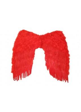 Крылья перьевые красные 92 см