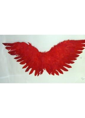 Крылышки Амура 60 см красные