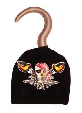 Крюк пирата с эмблемой