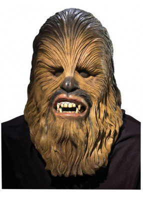 Латексная маска Чубакки