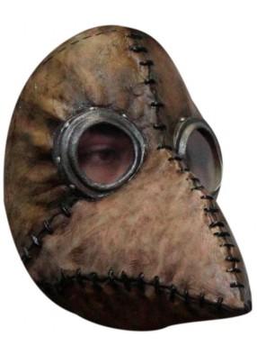 Латексная маска Чумной доктор Браун