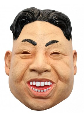 Латексная маска Ким Чен Ын