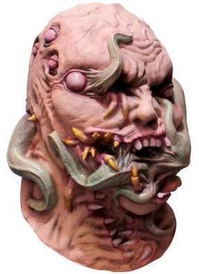 Латексная маска Распадающийся череп
