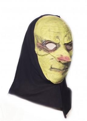 Латексная маска с капюшоном фото