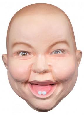 Латексная маска Улыбчивый малыш