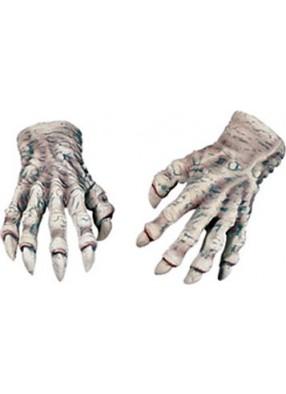 Латексные перчатки вампира