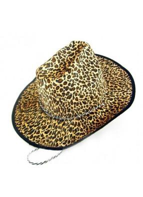 Леопардовая шляпа