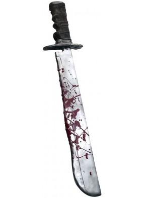 Мачете Джейсона Deluxe с кровью из Пятница 13-е