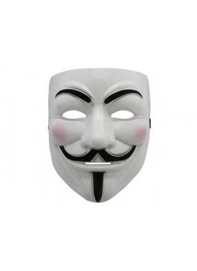 Маска Анонимус из пластика Гая Фокса
