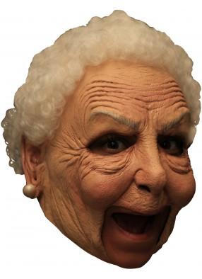 Маска бабушки из латекса