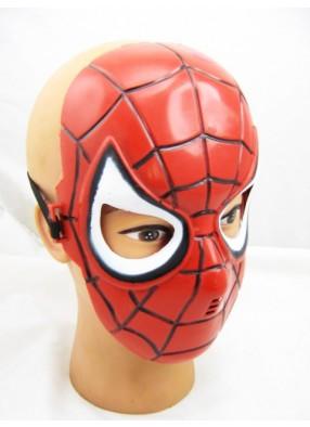 Маска человека паука пластиковая детская