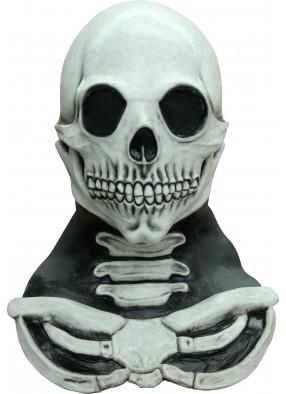 Маска Череп с шеей и костями