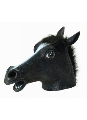 Маска черной лошади