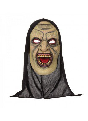 Маска Демон с открытым ртом 1 фото