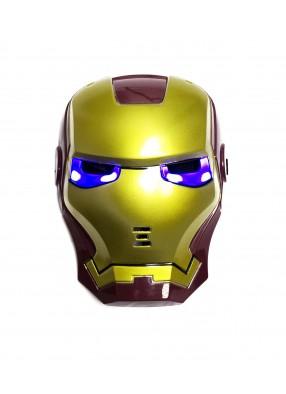Маска для детей Железный Человек фото