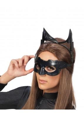 Маска и ушки женщины-кошки