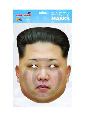 Маска Ким Чен Ына