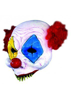 Маска клоуна без подбородка