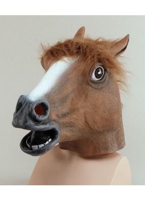 Маска коричневой Лошади