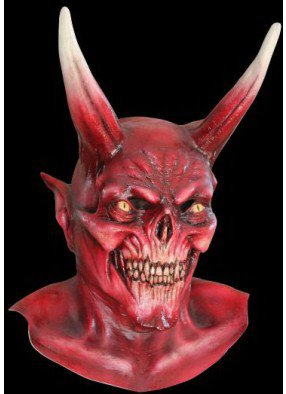 Маска красного дьявола