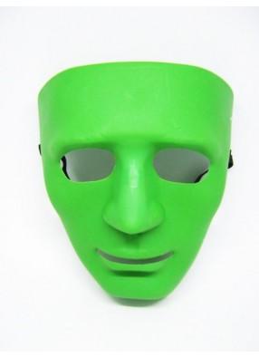 Маска лицо зеленое