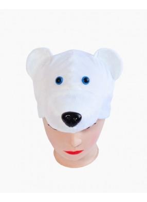 Маска Медведь белы