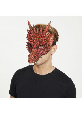 Маска огнедышащего дракона