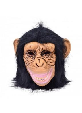 Маска Шимпанзе из латекса 1 фото