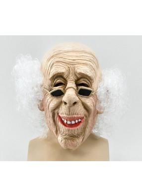 Маска Старик с волосами 1 фото