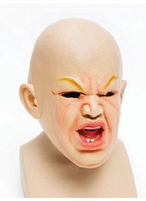 Маска Страшный ребенок 1 фото