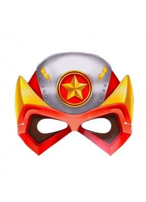 Маска Супергероя красная