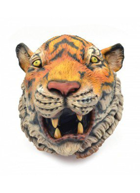 Маска Тигр реалистичный 1 фото