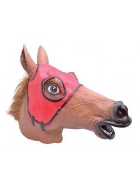 Маска удивленной лошади