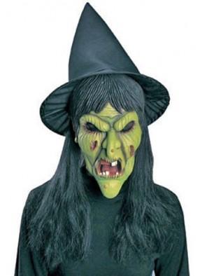 Маска ведьмы со шляпой