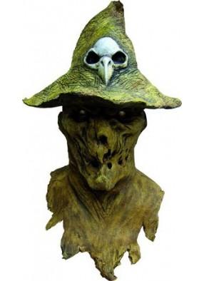 Маска зеленое пугало в шляпе