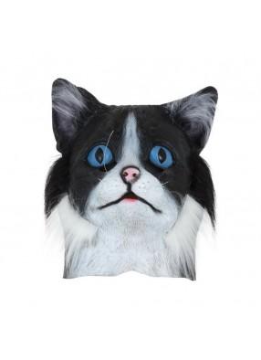 Меховая маска кота