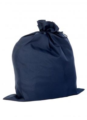 Мешок деда мороза для подарков синий