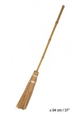Метла ведьмы бамбуковая