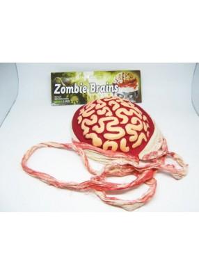 Мозги Зомби красно-белые