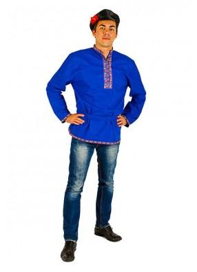 Мужской национальный льняной костюм