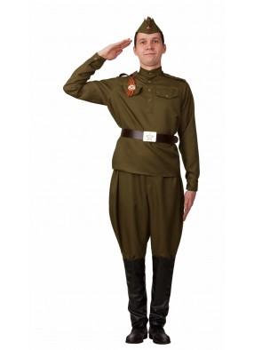 Мужская военная форма с галифе