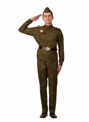 Мужская военная форма ВОВ