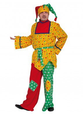 Мужской костюм придворного скомороха