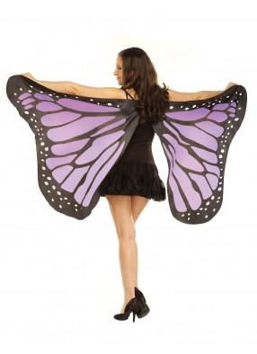 Мягкие крылья бабочки фиолетовые фото