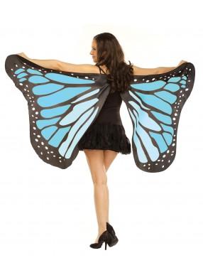 Мягкие крылья бабочки голубые фото