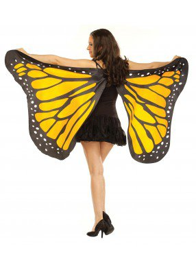 Мягкие крылья бабочки желтые фото