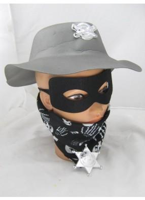 Набор бандита с маской и платком