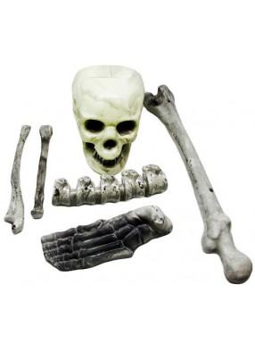 Набор человеческих костей на Хэллоуин